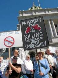NO STATE SCHOOL TAXES in PA, What do you think of that?