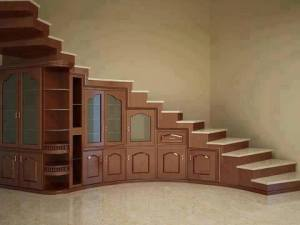 Steps and storage