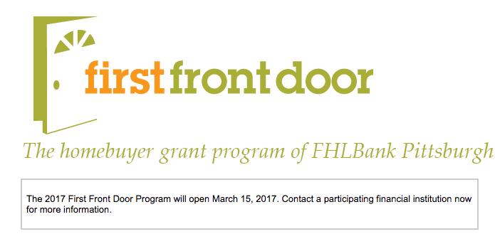 FIRST FRONT DOOR