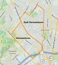 Germantown Map 1